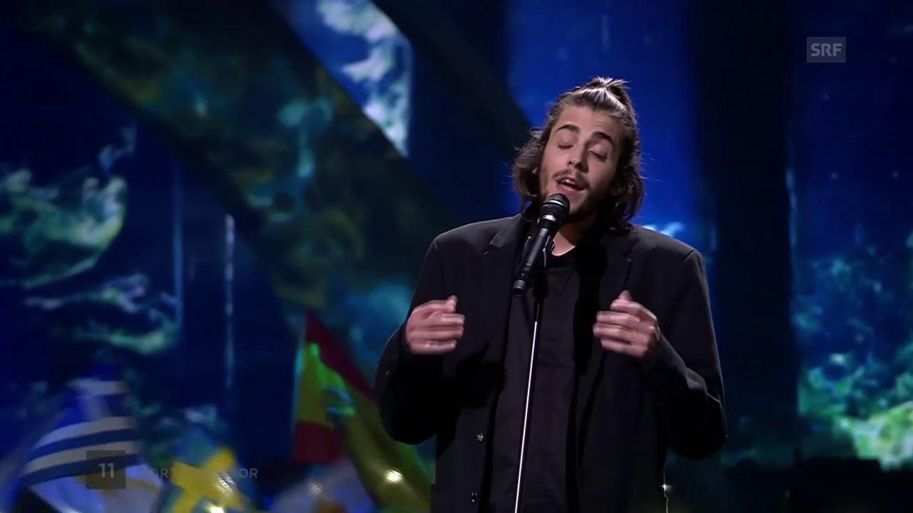Salvador Sobral mit «Amar Pelos Dois»