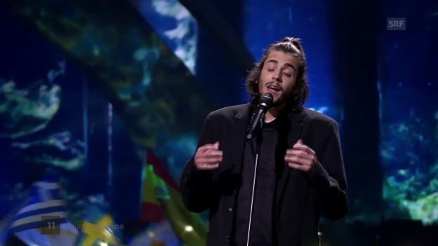 Video «Salvador Sobral mit «Amar Pelos Dois»» abspielen