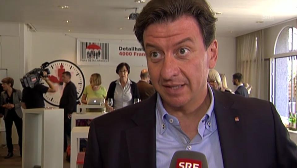 «44 Prozent sagen nein», hält Corrado Pardini fest