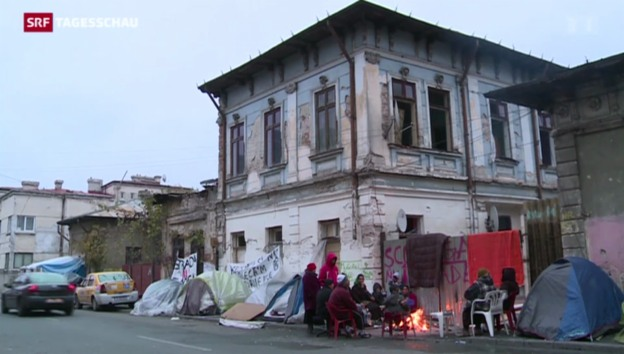 Video «Desolate Lage der Roma in Rumänien» abspielen