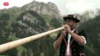 Video «Schweiz Tourismus mit Brauchtum und Traditionen gegen Gästeschwund» abspielen