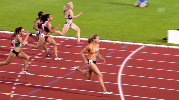 Video «Kambundjis Sprint zu EM-Bronze» abspielen