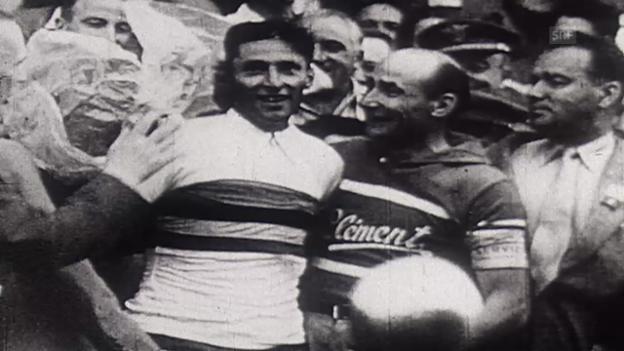 Video «RAD: Küblers Sieg an der WM 1951» abspielen