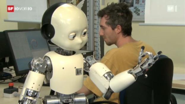 Video «Roboter auf dem Vormarsch» abspielen