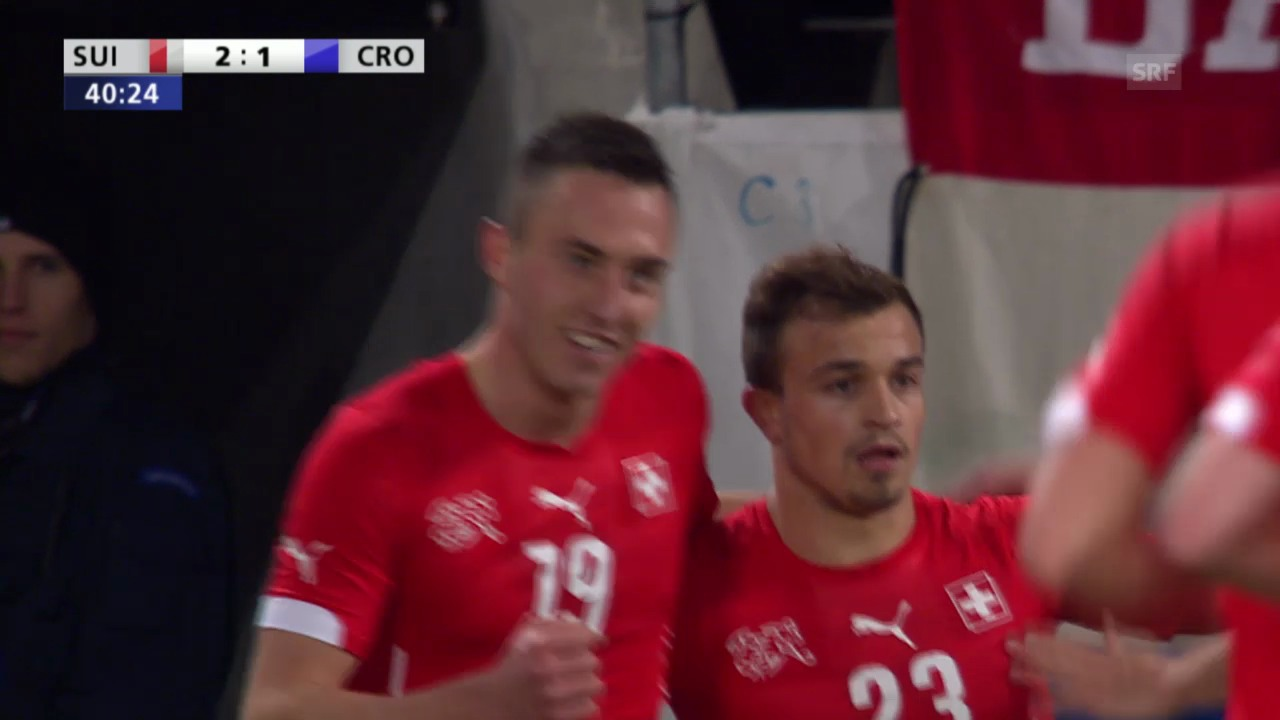 Fussball: Testspiel Schweiz-Kroatien («sportlive», 5.3.2014)
