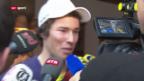 Video «Ski alpin: Elia Zurbriggen vor dem Rennen in Adelboden» abspielen