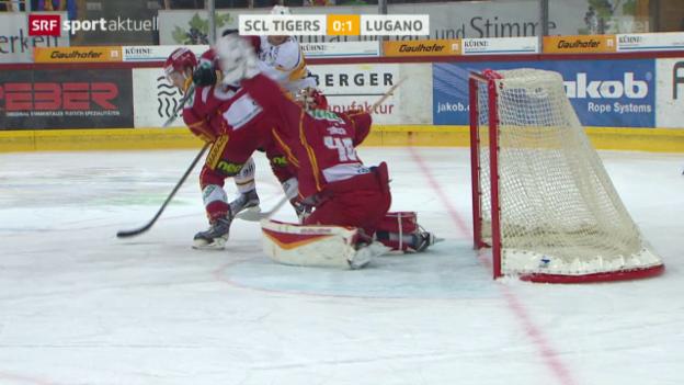 Video «Eishockey: SCL Tigers-Lugano» abspielen