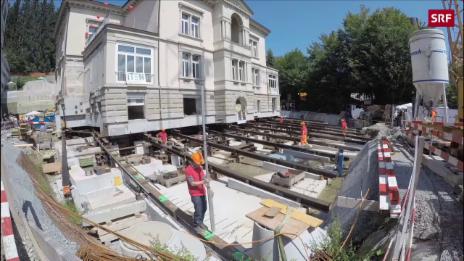 Link öffnet eine Lightbox. Video Villa in St. Gallen wandert 20 Meter abspielen