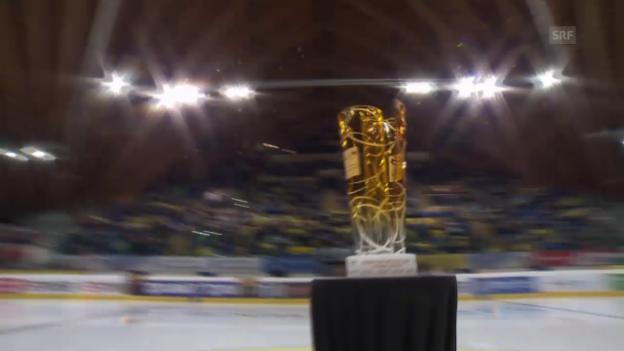 Video «Eishockey: Playoff-Final, 4. Spiel, HC Davos - ZSC Lions» abspielen
