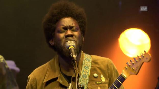 Video «Michael Kiwanuka - «Black Man In A White World» OpenAir St. Gallen.» abspielen