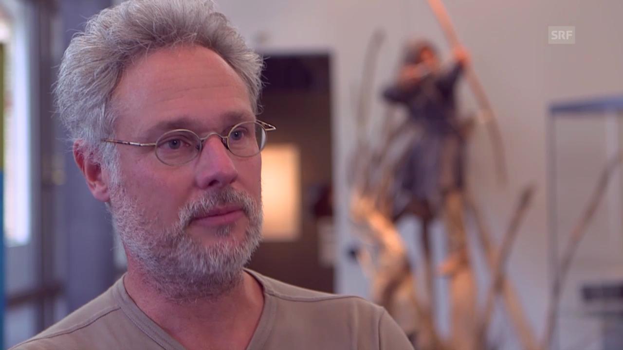 Der Archäologe Jürgen Junkmanns: