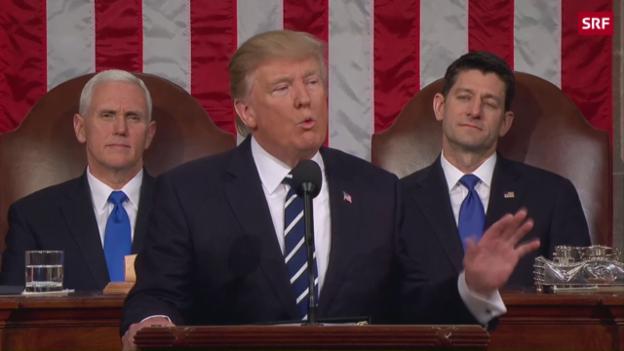 Video «Trump und die «great, great wall»» abspielen