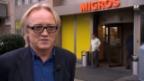 Video «Robert Schwarzer, Unia, über Funkchips im Detailhandel» abspielen