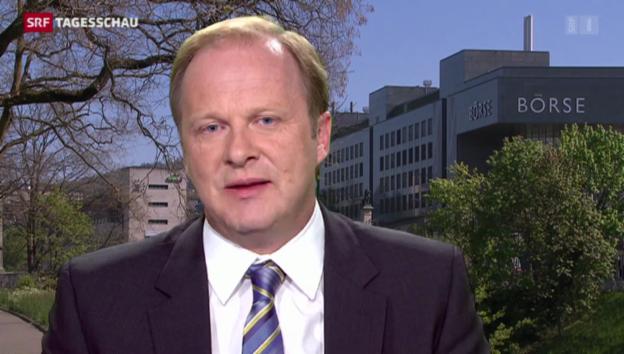 Video «Einschätzungen von SRF-Wirtschaftsredaktor Christian Kolbe» abspielen