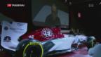Video «Sauber: Neues Auto, neue Fahrer» abspielen