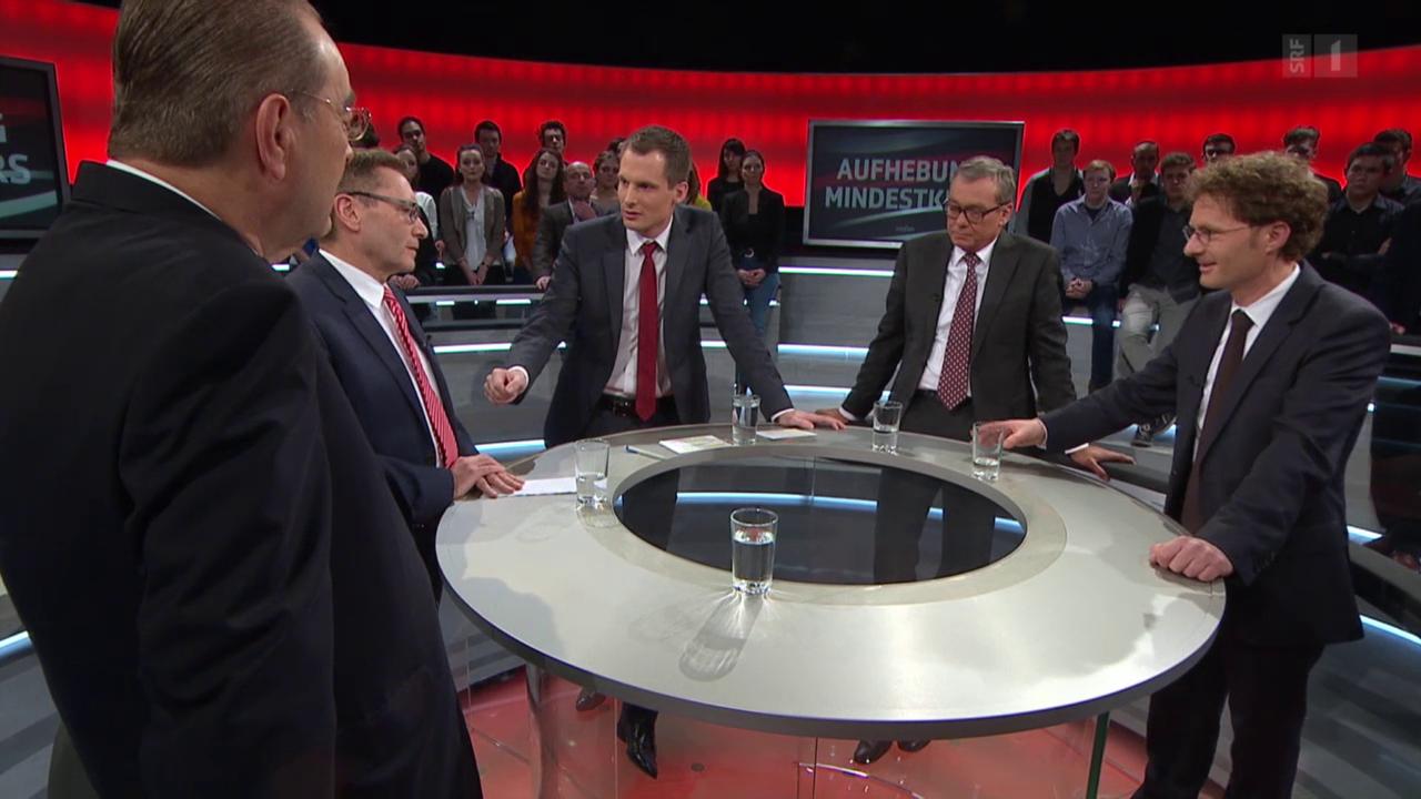 Arena: Das Wirtschafts-Beben - Euro-Mindestkurs aufgehoben