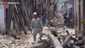Video «Die Schweiz hilft in Nepal» abspielen
