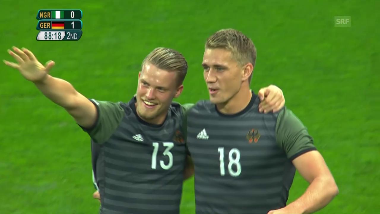 Deutschland folgt Brasilien in den Final