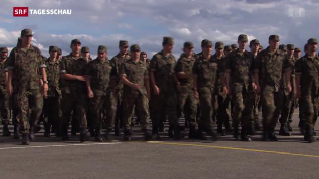 Video «Armeereform wieder auf Kurs» abspielen