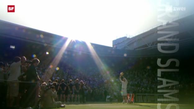 Video «Tennis: Die Meilensteine in Federers Tennis-Karriere» abspielen