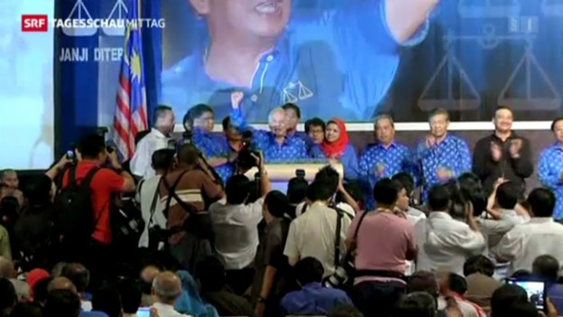 Video «Malaysische Regierung schafft Wiederwahl» abspielen