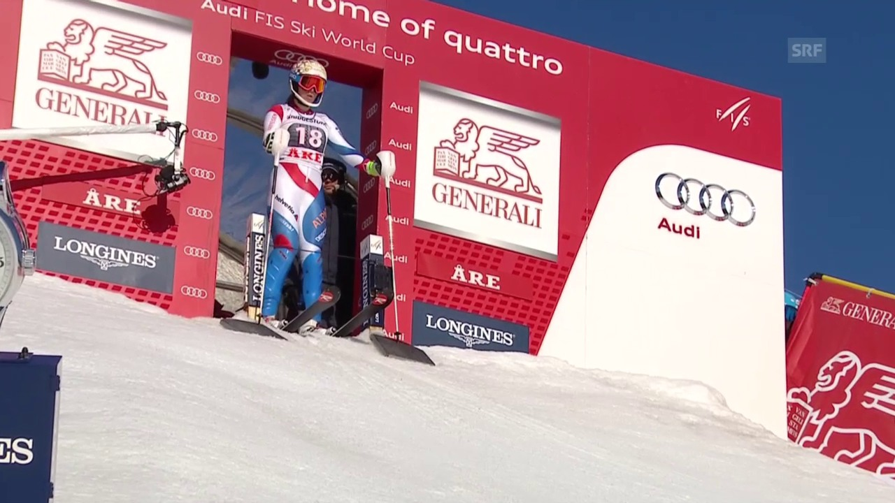 Ski: Weltcup Slalom, Are, 2. Lauf Michelle Gisin