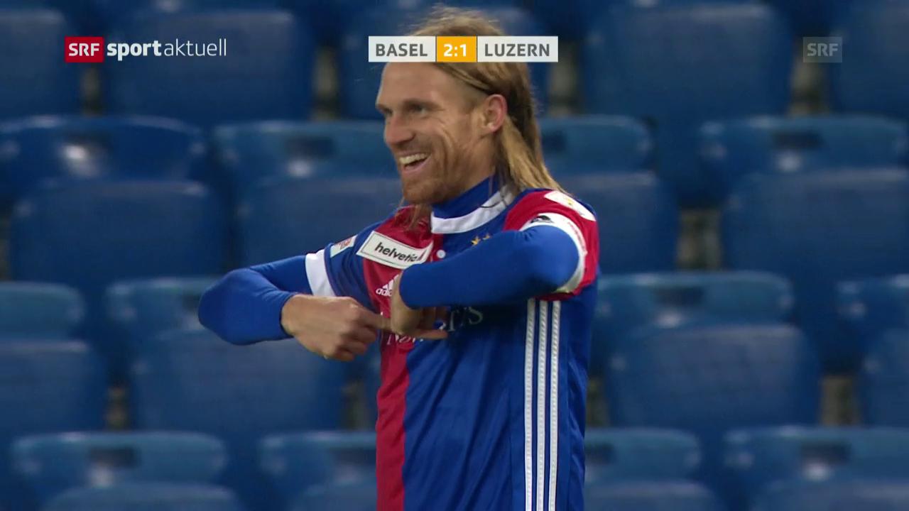 Lang schiesst Basel in den Cup-Halbfinal