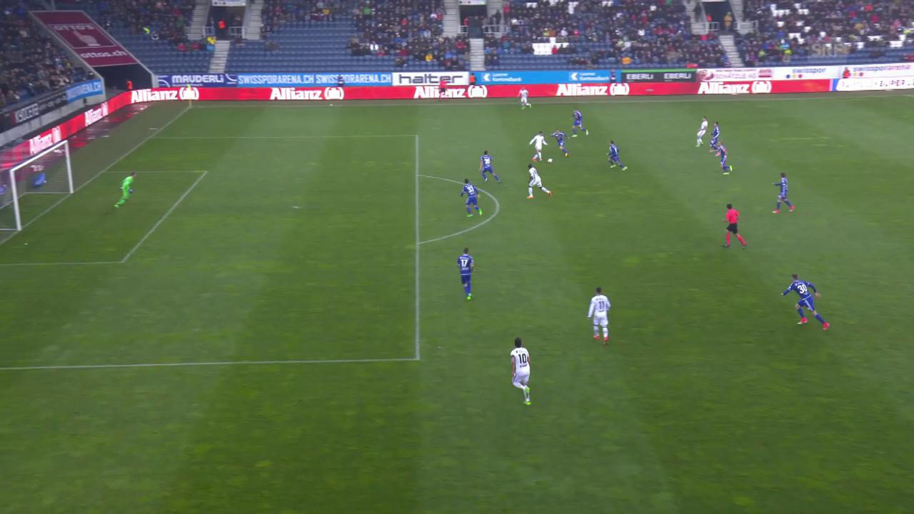 Doumbias Treffer zum 1:0