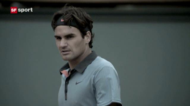 Studiogast Roger Federer