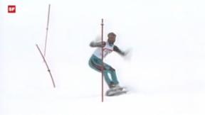 Video ««Retro» – vor 25 Jahren erobert Snowsurfen die Pisten » abspielen