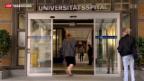 Video «Nervosität am Unispital Zürich» abspielen