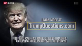 Video «Republikanische Partei im Kampf gegen Trump» abspielen