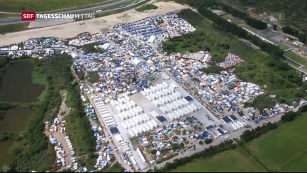 Video «Flüchtlingslager Calais vor dem Aus» abspielen