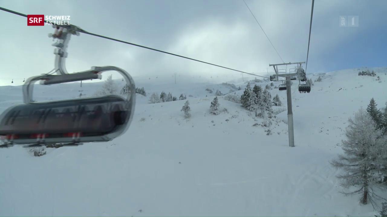 Schlechtwetter-Rabatt auf Skibillette