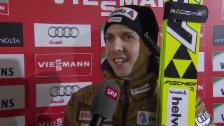 Video «Skispringen: Weltcup Kuusamo, Interview Ammann» abspielen