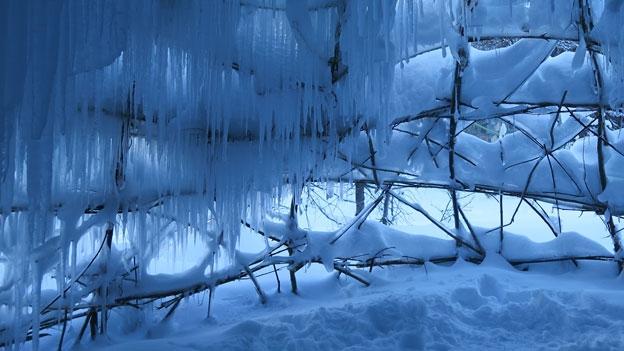 La stagiun da las Ice Stupas è a fin