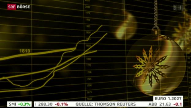 Video «SRF Börse vom 11.11.2014» abspielen