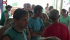 Video «Mehr als 1 Million Menschen fliehen aus der Ukraine» abspielen
