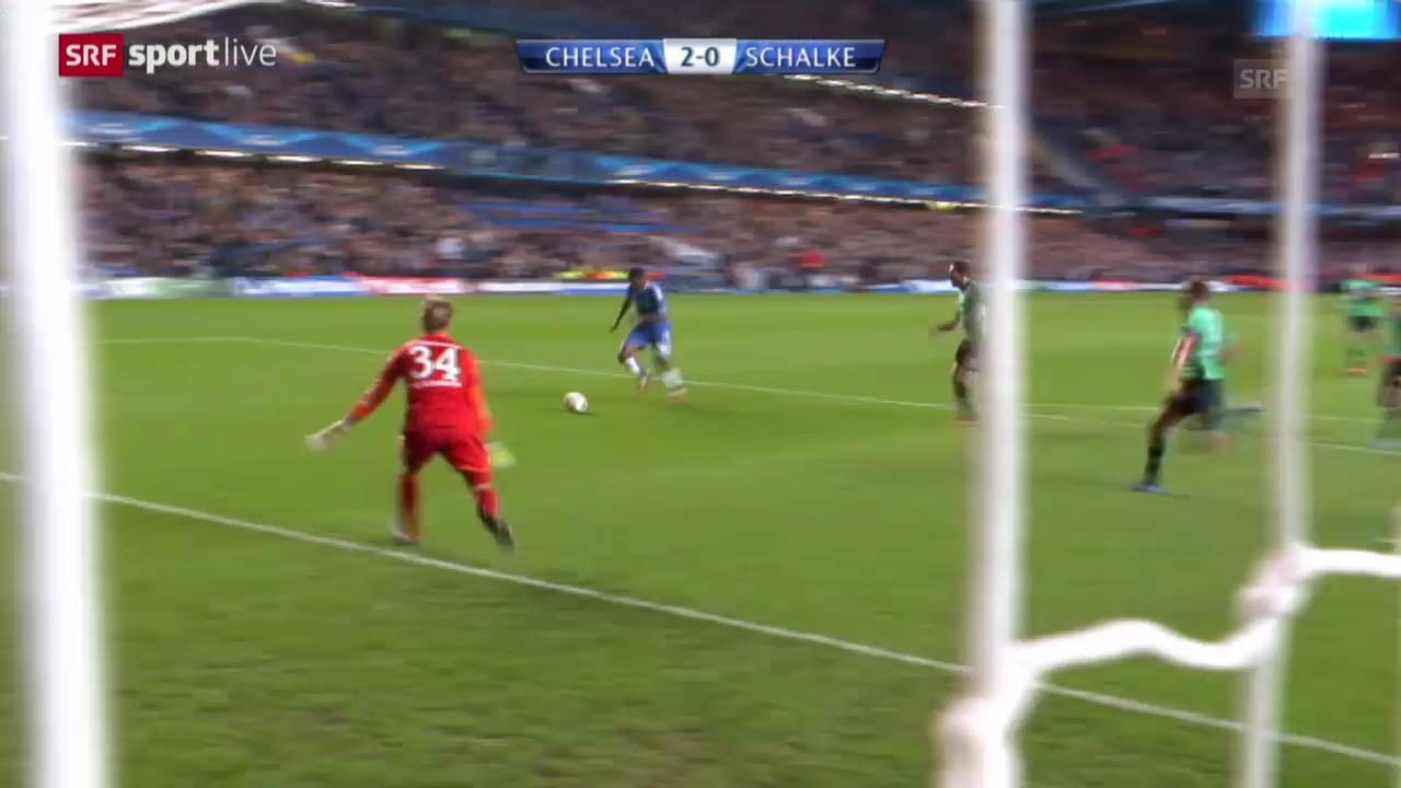 Fussball: Chelsea - Schalke