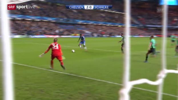 Video «Fussball: Chelsea - Schalke» abspielen