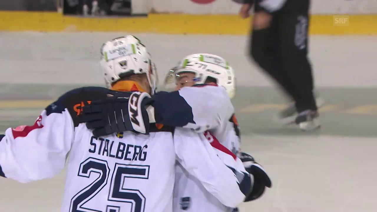 Stalbergs Shorthander zum 2:0 gegen Fribourg-Gottéron