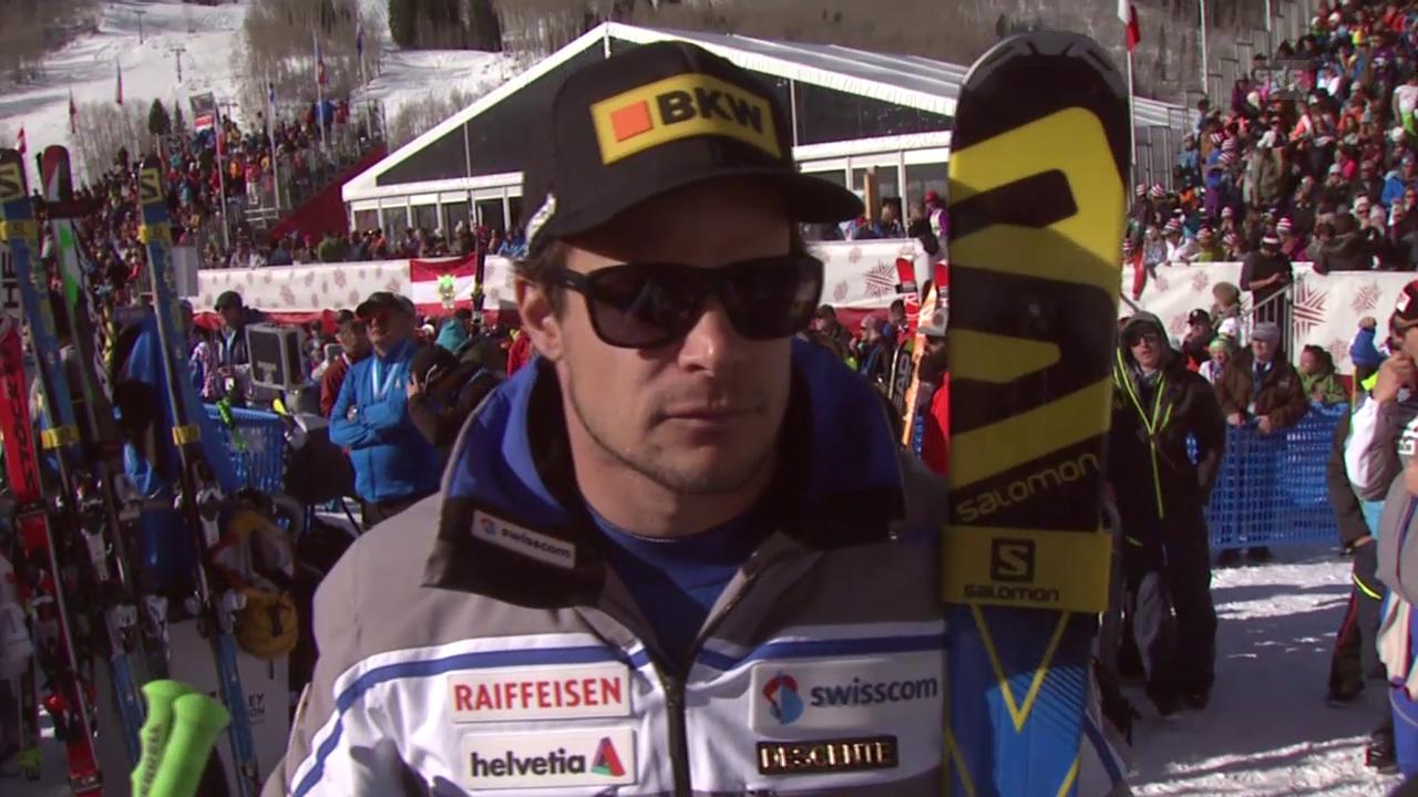 Ski Alpin: Küng über sein Rennen in Beaver Creek