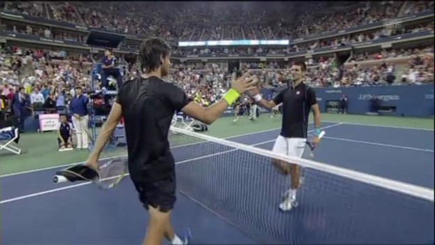 Video «Matchball Djokovic - Sousa (unkommentiert)» abspielen
