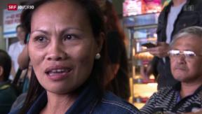Video «Verzweifelte Suche nach Kindern» abspielen