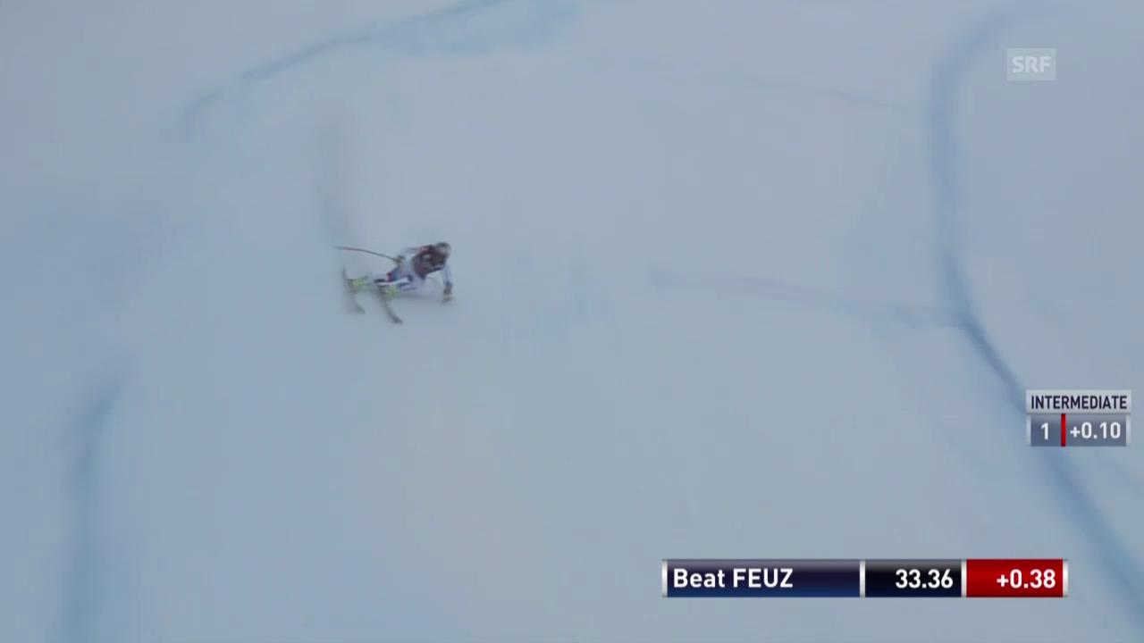 Die Fahrt von Beat Feuz («sportlive»)