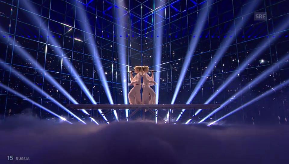Russland – Tolmachevy Sisters mit «Shine»