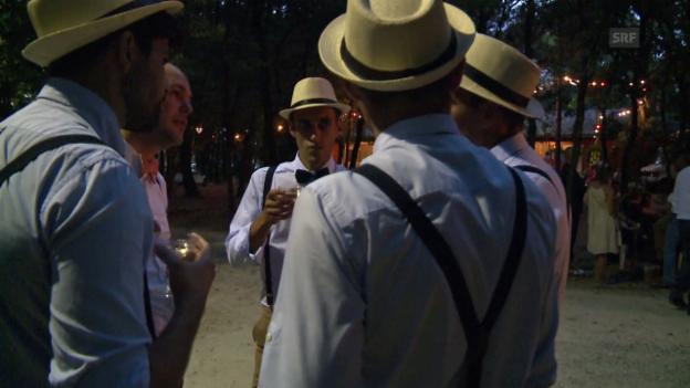Video ««Wir sind glücklich in der Schweiz»» abspielen