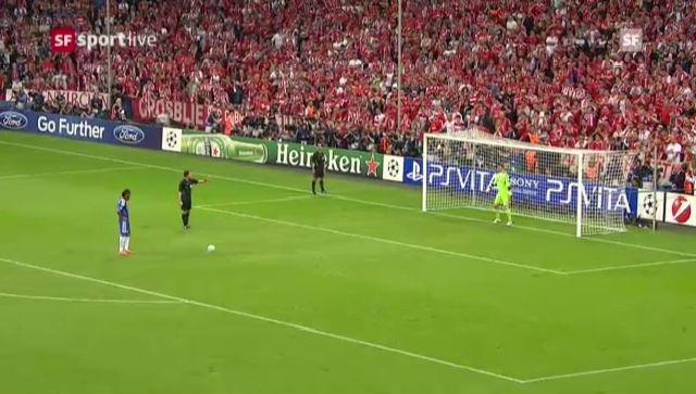 Bayern - Chelsea: Das Elfmeterschiessen