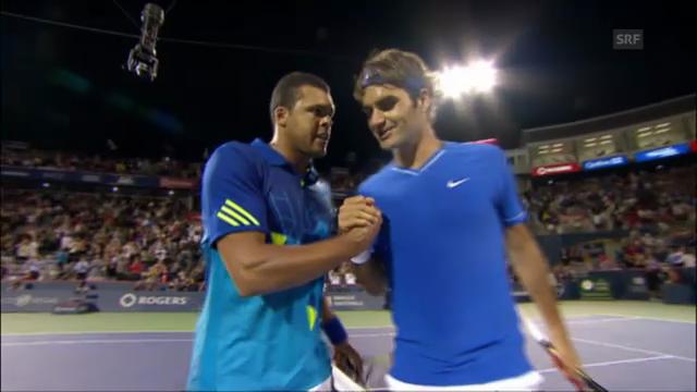 Rückblick Federer gegen Tsonga