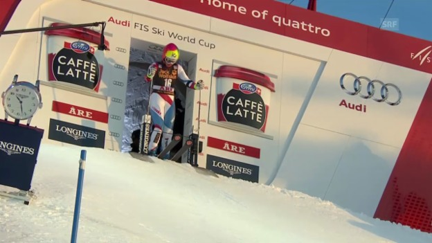 Video «Ski Alpin: 1. Lauf von Dominique Gisin» abspielen